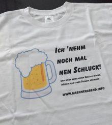 Männerabend T-Shirts im Anflug